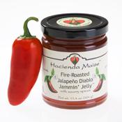 Jalapeño Diablo hot pepper jelly from Hacienda Maize